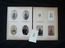 MASSACHUSETTS 17 CDVS WITH 2 SOLDIERS ~ CROSS STEVENS ~ TRAVELING SALOON