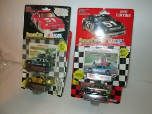 4 Racing Champions Die Cast NASCAR Cars, 1:64 Scale