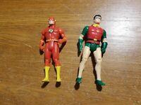 1984 Super Powers Figure Lot Robin Flash