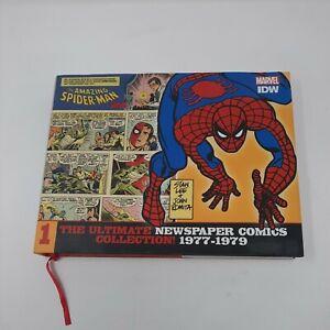 Amazing Spiderman Ultimate Newspaper Comics Collection HC 1 IDW Stan Lee Romita
