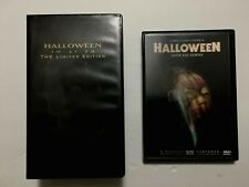John Carpenter's Halloween Limited Edition VHS and Lenticular DVD