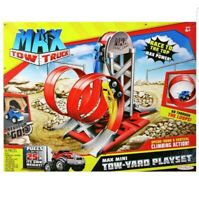 Max Tow Truck 87239 Mini Towyard Playset Vehicle