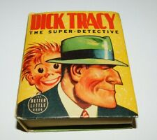 Vintage 1939 Dick Tracy the Super Detective- Better Little Book Vg+
