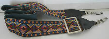 Polaroid SX-70 Camera Strap 2 Clip Alpha & Sonar - Colorful Vintage Hippy Retro