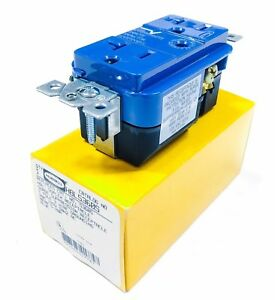 HBL5360S Hubbell Receptacle 20 Amps 125VAC Voltage NEMA Configuration 5-20R