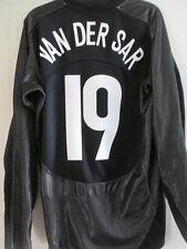 Manchester United 2005-2006 Van Der Sar Portero De Fútbol Camisa medio / 37591