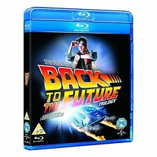 Back to the Future Trilogy Blu-ray  Michael J. Fox, Christopher Lloyd Brand New