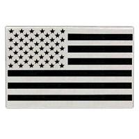 "VEGASBEE® HUGE USA FLAG REFLECTIVE EMBROIDERED IRON-ON PATCH AMERICAN  BIKER 14"""