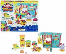 PLAY-DOH Play Doh Boy Girl Toy Modeling Clay Animals Pet Shop % New