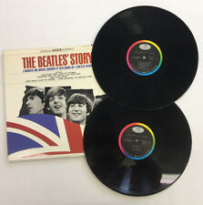 THE BEATLES STORY 1ST PRESSING -ST 2222, VINYL 8.5, SLEEVE 9.0 RARE AND UNIQUE