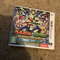 Mario & Luigi Superstar Saga + Bowser's Minions - (Nintendo 3DS)
