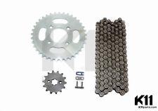 Kette 420H 130 + 14Z Vorne Ritzel + 37Z Hinten Ritzel Dirt Quad Pit Cross Bike