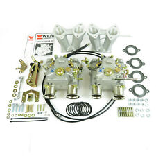 GENUINE Twin Weber 40DCOE carburettor kit for Ford Escort Cortina Pre X/Flow