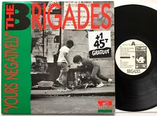The Brigades - Yours Negatively LP  Negative Records  NLP 003
