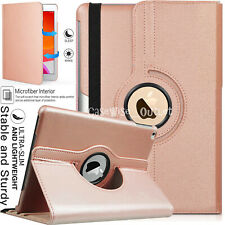"""For Apple iPad 10.2"""" 2019 (7th Generation) 360 Rotating Leather Smart Case Cover"""