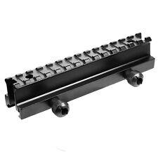 Tactical Rail Mount High Riser Fit 20mm Picatinny Rail For Rifle Scope Aluminum