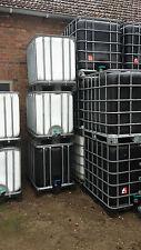 Regenwassertank, Wasserfass, IBC, 640 Ltr., gereinigt