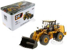 CAT CATERPILLAR 966M WHEEL LOADER W/ OPERATOR 1/50 BY DIECAST MASTERS 85928