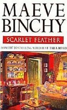 Maeve Binchy~SCARLET FEATHER~SIGNED UK 1ST/DJ~NICE COPY