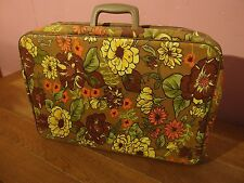 "Vintage 1960's Small ""Bantam Travelware"" Suitcase, Briefcase, Laptop Holdall"