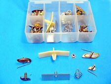 Chevy Door Body Side Exterior Trim Molding Clips Rocker Fasteners Assorted Kit