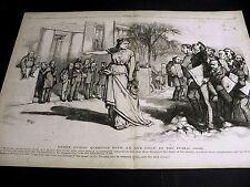 Thomas Nast MEDIA Uncovers GOVERNMENT FRAUD, CORRUPTION, BRIBERY 1873 Lg. Print