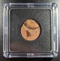 199X Lincoln Penny Struck off center ERROR coin