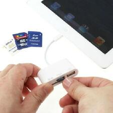 3 carte lecteur Micro SD Camera Link adaptateur USB pour iPad iphone /Mini