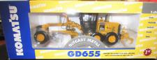 """FIRST GEAR 50-3149 KOMATSU GD655 Grader """"US Forest Service"""" 1:50 """"NEW"""""""