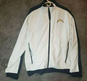 San Diego Chargers NFL Men's Full Zip On Reebok Shell Jacket & Pants Large