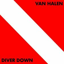 Van Halen Diver Down Vinyl LP CD Cover Bumper Sticker or Fridge Magnet