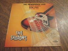 45 tours THE SHADOWS the frightened city