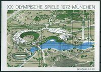 Bund Block Nr. 7 gestempelt ESST München BRD 723-726 Olympische Spiele BRD 1972