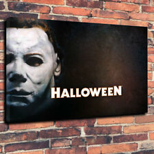 """Halloween Michael Myers Printed Canvas Picture A1.30""""x20""""30mm Deep Horror"""
