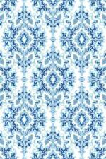 Oriental Blue Tapestry Pattern Art Print Poster 24x36 inch