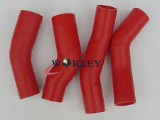 RED Silicone Intercooler Hose Kits For Nissan Fairlady 300ZX Z32 Twin Turbo