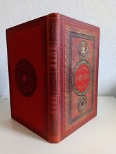Jules Verne Hetzel Sans dessus dessous cartonnage aux initiales éd. originale
