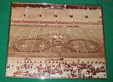 VTG TULSA GOLDEN HURRICANE UNIVERSITY FOOTBALL MARCHING BAND REAL PHOTO PICTURE