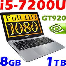 "ASUS X541U 7th-GEN i5-7200U 1.9KG 15.6"" FULL HD 8GB-DDR4 1TB GeForce GT920 Gamer"
