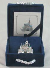 Walt Disney Gallery Swarovski Crystal Sleeping Beauty Castle Limited Brooch Pin