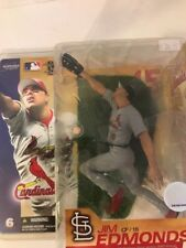 Jim Edmonds Mlb Series 6 Chase Gray McFarlane Toys 2003 Cardinals