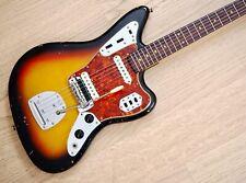 1964 Fender Jaguar Vintage Offset Electric Guitar Pre-CBS Sunburst w/ Case