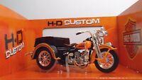 MAISTO 32420 Harley-Davidson Three Wheled 1947 Servi-Car - METAL Scala 1:18