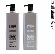 Juuce Miracle D.Frizz Shampoo and Conditioner 1lt Duo