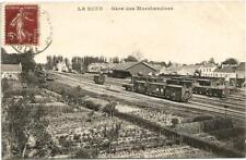 La Suze (72) Gare de marchandises.