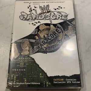 HARDCORE WWE (2002) DVD **RARE** World Wrestling Entertainment