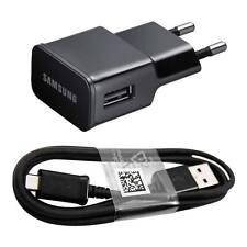 Originale Caricabatteria+Cavo Usb nero Samsung ETA U90 2A GT-P5100 Galaxy Tab 2