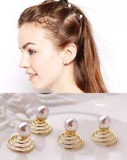 Wedding Formal Hair Decorations Pearl Hair Screws Set Of 6 Pieces