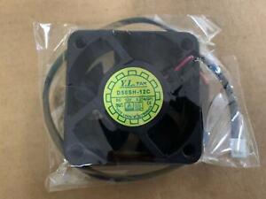 new D50SH-12C Fan DC 12V 0.27A 2 pin 50*50*20mm
