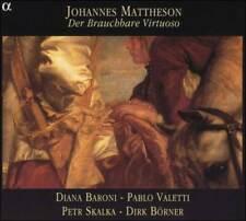 JOHANNES MATTHESON: DER BRAUCHBARE VIRTUOSO NEW CD